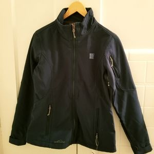 Eddie Bauer Forest Green Soft Shell Jacket